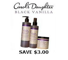 Printable coupon for carols daughter product