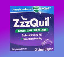 Printable discount coupon for Zzzquil $2 off