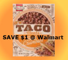 Discount for hormel taco meats
