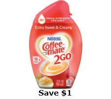 Printable coupon for coffee mate 2go