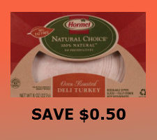 Printable coupon for hormel deli meat