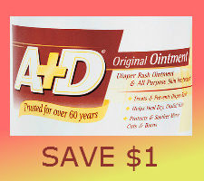 Printable coupon for a and d