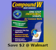 Printable discount coupon for compound w