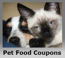 Coupons for pet food