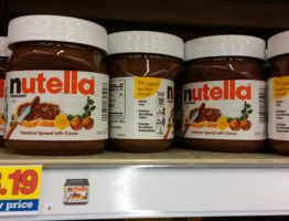 Printable coupon for nutella spread