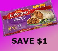 Printable coupon for el monterey