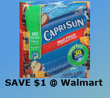 Printable discount coupon for capri sun juice