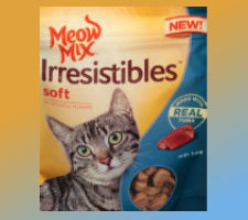 Printable coupon for meow mix irresistibles cat treats