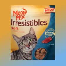 graphic about Meow Mix Coupon Printable called Meow Blend Irresistibles Price cut Coupon