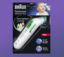 Printable discount coupon for braun thermometers