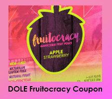 Save $1 on Dole fruitocracy