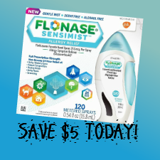 photograph about Flonase Coupons Printable known as Flonase Sensimist $5 Coupon