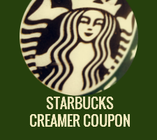 Starbucks Coffee Creamer Coupon