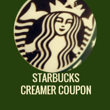 Starbucks Coffee Creamer Coupon