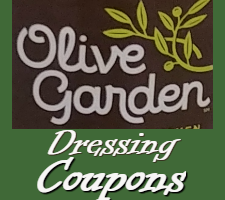 Olive Garden Dressing Coupons