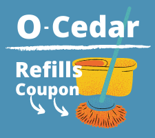 O-Cedar Mop Refill Coupon