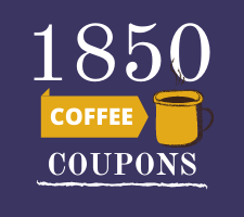 1850 Coffee Coupons